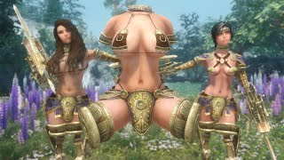 Skyrim Mod Review 112 - THE KINKIEST WTF ARMOR EVER - Series: Boobs and Lubes