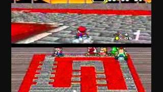 Super Mario Kart - 1992 - 50cc Mushroom Cup