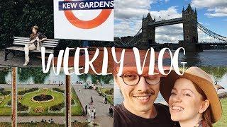 Phil vloggt, 100% grün in Kew Gardens & Street Food in Central London #WEEKLYVLOG