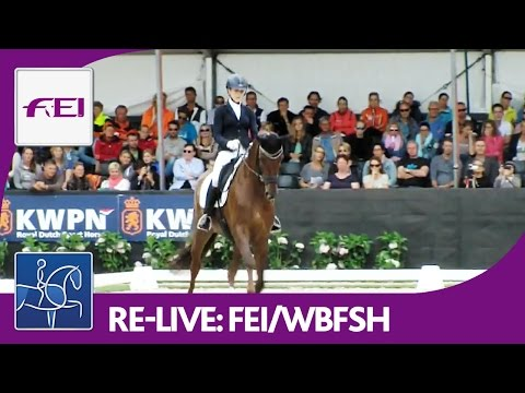 Xxx Mp4 Re Live Longines FEI WBFSH World Breeding Dressage Chps F Young Horses Final 5yo Horses 3gp Sex
