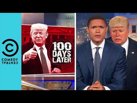 Trevor Meets Trump The Daily Show Comedy Central