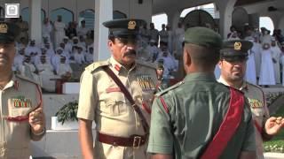سعادة القائد العام لشرطة دبي يخرج الدفعة الخامسة عشر من الطلبة الجامعيين و المستجدين