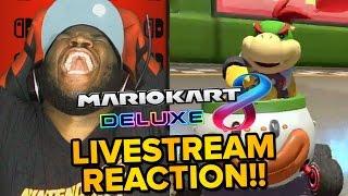 Mario Kart 8 Deluxe - LIVE REACTION & Gameplay Trailer!