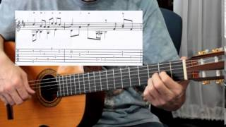 Fingerstyle Guitar Lesson of