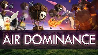 Clash of Clans: AIR DOMINANCE - Ideas for 3 STARS with AIR ATTACKS!