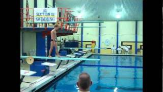 1m Diving Sectionals