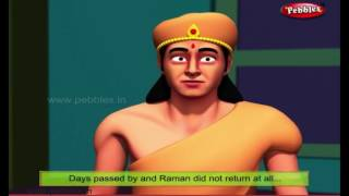 Lesson with Interest | Moral Stories of Tenali Raman For Kids | 3D Tenali Raman Stories in English