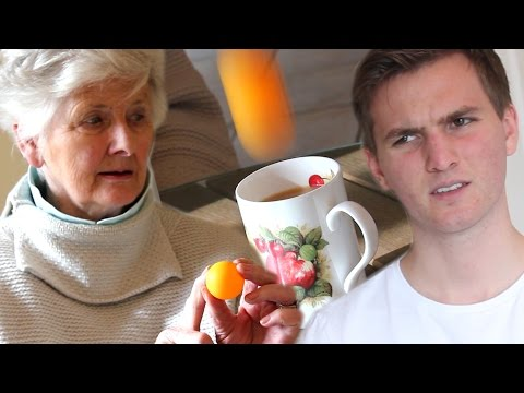 Grandma's Amazing Trick Shot   Peter Bamforth