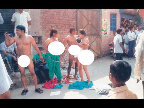 Dalit Woman Naked Protest or stripped by Uttar Pradesh Police? Family bares, controversy Video 2015
