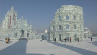 Ice Festival preparations hot up in Harbin, China