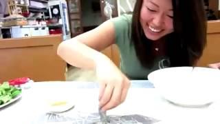Ăn bạch tuộc sống