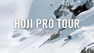 Nikolai Schirmer cruising with the new HOJI PRO TOUR skitouring boots