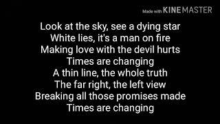 (Lyrics)Thirty Seconds to Mars - Walk on Water