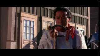 Jackie Chan horse shoe fight scene Shanghai Noon