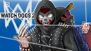 Watch Dogs 2 - FUNNY MOMENTS AND CHAOS! (With Cartoonz!)