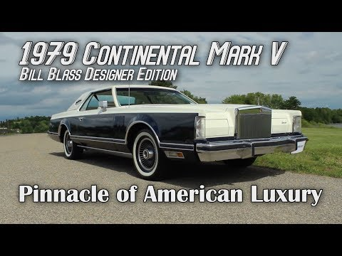 1979 Continental Mark V The Pinnacle of American Luxury