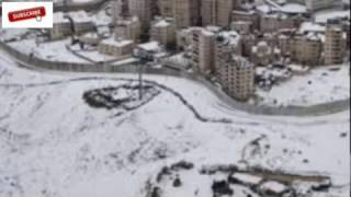 Aneh, Salju Kembali Lagi Turun Di Arab Saudi