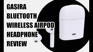 Gasira Bluetooth Apple Airpod Headphones Review