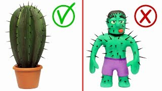 Diana's friend is pricked with a Cactus 💗 Cartoons For Kids