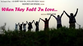 Official Trailer | When they fall in Love... | Valentine's Day Special Bangla Telefilm | Natok