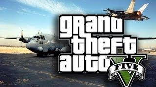 GTA 5: Tutti i mezzi militari senza polizia! AC130 + CARROARMATO [SENZA ATTIVARE TRUCCHI]