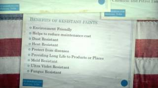 Different Varieties of Resistant Paints