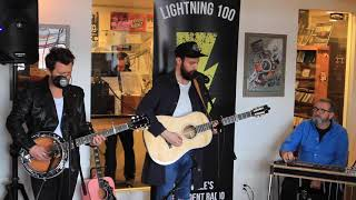 "Ruston Kelly Performing ""Mockingbird"" Live On Lightning 100"