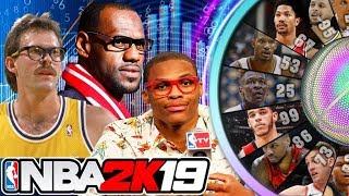 Wheel Of NBA 2K19 Attributes