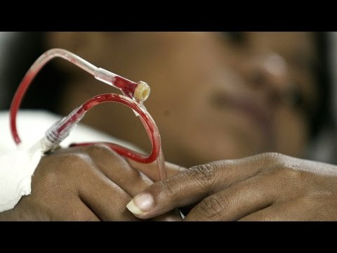 HIV Spread to Thousands by Blood Transfusions
