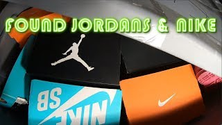 Found Jordans & Nike Shoes I Bought An Unclaimed Storage Unit For $60 In Foreclosure Auction