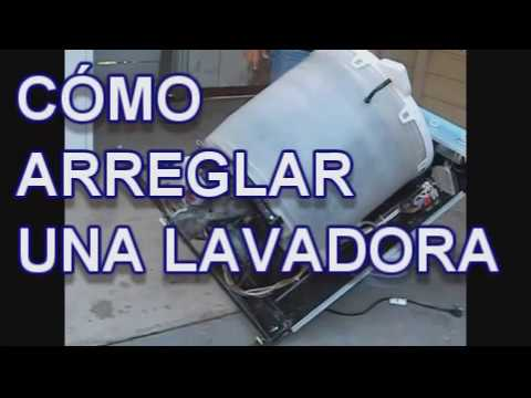 COMO ARREGLAR UNA LAVADORA MOTOR Lorena Lara