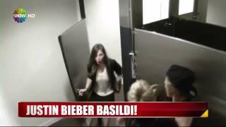 Justin Bieber Tuvalette Hayranlarına Muhteşem Sürpriz Yaptı