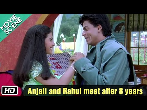 Xxx Mp4 Anjali And Rahul Meet After 8 Years Movie Scene Kuch Kuch Hota Hai Shahrukh Khan Kajol 3gp Sex