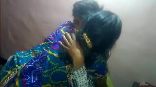 Emotional scene between mom & son