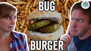 BUG BURGER TASTE TEST