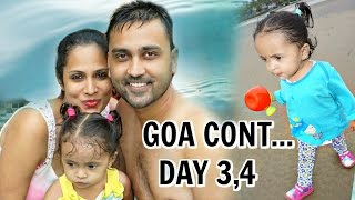GOA - Part 2 | Pool, Fort, Fun, Beach | A Day In My Life | ShrutiArjunAnand