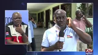 Live from Nana Addo's Residence - Election HQ on Joy News (8-12-16)