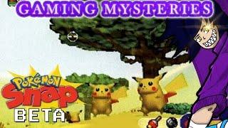 Gaming Mysteries: Pokemon Snap Beta (N64)