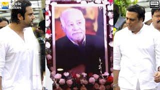 UNCUT Krushna Abhishek Father (Govinda's Brother In Law's) Funeral Ceremony 2016