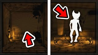 WHAT HAPPENS IF YOU GO BACKWARDS TO THE PENTAGRAM ROOM? | Bendy and the Ink Machine