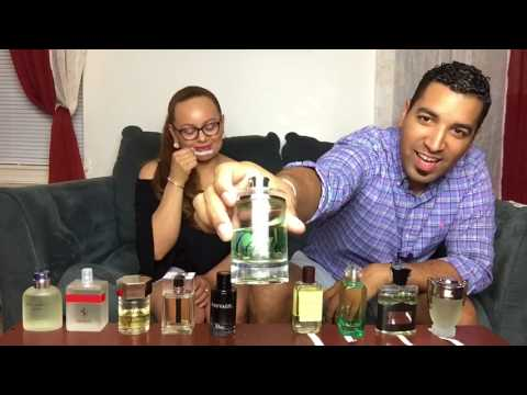 🍹Top Most Complimented Summer Men's Fragrances / Judged / Ranked By My Wife || Colognes || Perfumes