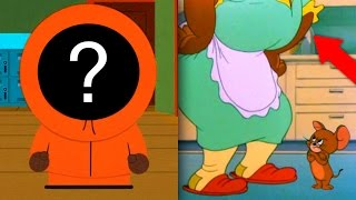6 Cartoon Characters Who Secretly Revealed Their Faces!