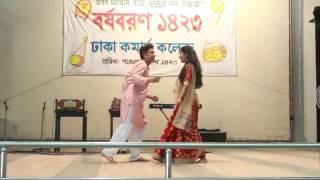 Pahela Boisak Festival 1423 | Dance by Rafsan & Tithi.