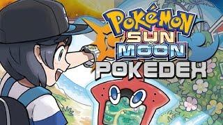 FULL POKEDEX AND ALOLAN FORMS LEAKED!   Pokemon Sun and Moon!