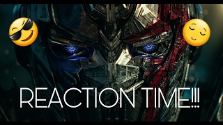 Transformers: The Last Knight - Big Game Spot Reaction!!