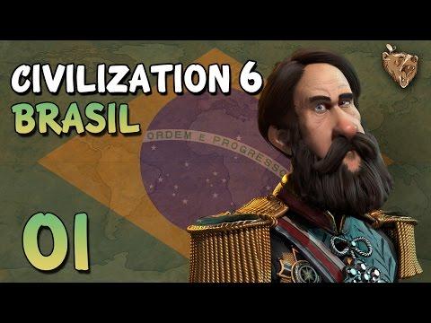 Civilization 6 Brasil #01