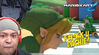LINK F#%KING BETRAYED ME!!! [MARIO KART 8]