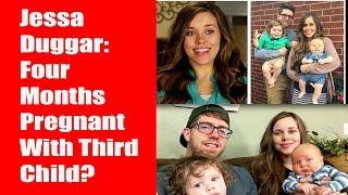 Jessa DuggarFour Months Pregnant With Third Child