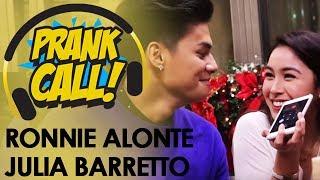 Prank Call: Ronnie Alonte at Julia Barretto, 'di nagpahuli sa prank call ng MOR 101.9!