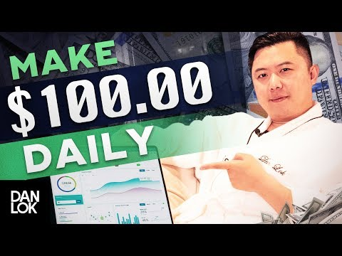 How To Make A $100 A Day From Home